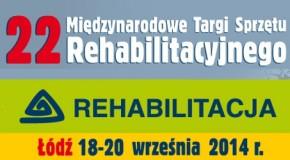 XXII Międzynarodowe Targi Sprzętu Rehabilitacyjnego REHABILITACJA