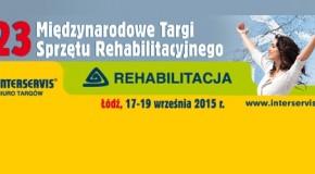 23 Międzynarodowe Targi Sprzętu Rehabilitacyjnego – Rehabilitacja 2015