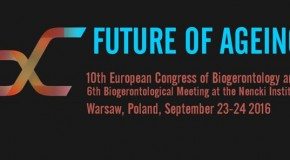 "10th European Congress of Biogerontology ""Future of Ageing"""